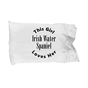 Unique Gifts Store Irish Water Spaniel v2c - Pillow Case 1
