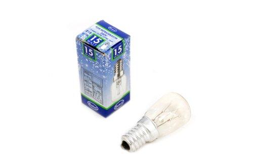 Fridge Freezer Lamp Bulb Universal E14 15 Watt Ses X 1 Amazon Co Uk