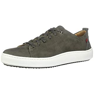 Marc Joseph New York Mens Genuine leather Made in Brazil Union Square Sneaker, Grey Washed Nappa, 9.5 M US