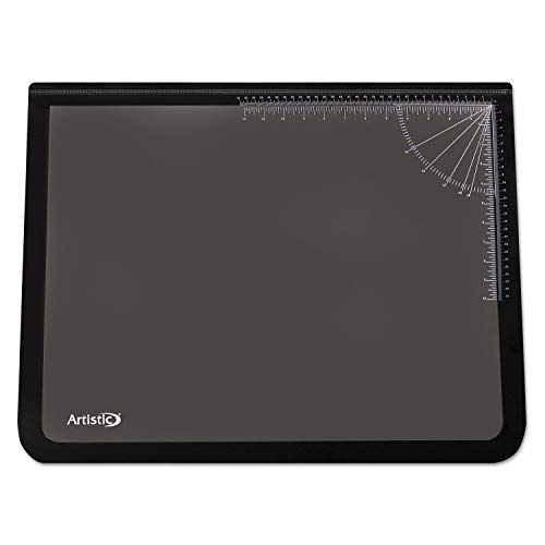 AOP41100S - Artistic Logo Pad Desktop Organizer with Clear Overlay