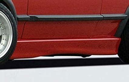 Rieger Potenciador de Lado Negro Mate para Volkswagen Polo 2/3: 75 ...