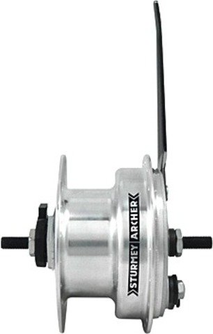 Sturmey Archer Dynamo 3.0 Front hub+90mm Drum Brake, 36h ()