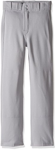 Easton Boys Rival 2 Solid Baseball Pants, Grey, Medium
