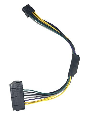 Asicminer 24 Pin to 8-Pin Power Supply ATX PSU Adapter Cable (Dell 24 Pin To 8 Pin Adapter)