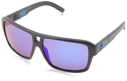 Dragon Alliance The Jam Matte P2 Sunglasses, H2O/Polarized Blue Ion