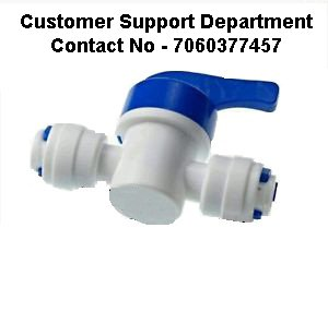 Luzon Dzire BV1 Ball Valve for Water Filter (White) Water Purifier Accessories at amazon