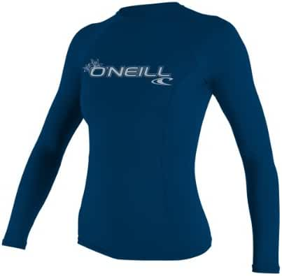 O'Neill UV Sun Protection Women's Basic Skins Long-Sleeve Rashguard Top