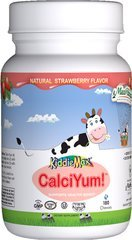 Chewable CalciYum Strawberry Maxi-Health 180 Tabs