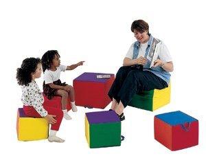 Children s Factory CF321-946 Child Comfy Cushions Set of 4