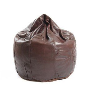 Awesome Coffee Bean Colour Strong Buffalo Leather Bean Bag About Caraccident5 Cool Chair Designs And Ideas Caraccident5Info