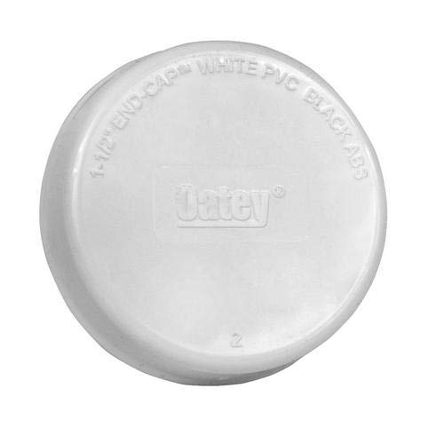 Oatey 39105, 1-1/2'' End Cap with Barcode, Pack of 500 pcs