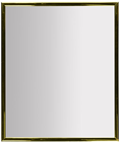 Kole OC538 Wall Mirror Gold Trim Wall Mirror - Package Dimensions: 14 L x 5 H x 1 W (inches) Package Weight : 1.1 pounds Country of Origin : China - mirrors-bedroom-decor, bedroom-decor, bedroom - 31YKYaJd9rL -