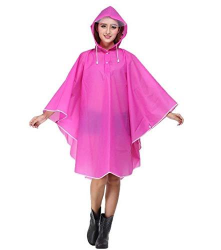 Style Fête Manteau Poncho Imperméable À Transparente Femmes Vêtements De L'eau Tranchée Moto Capuchon Pluie Rose Parka Y8ddqP