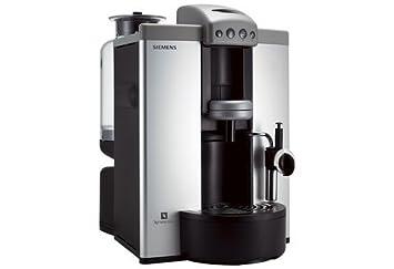 Siemens TK70N01, Antracita, Plata, 1300 W, 220 - Máquina de café: Amazon.es: Hogar