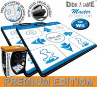 2x DDR Game Super Sensitive Super Deluxe Premium Edition Dance Pads for Wii (Premium Edition Dance Pad)