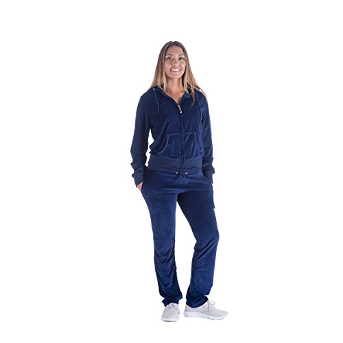 Velour Hooded Tracksuit - 3