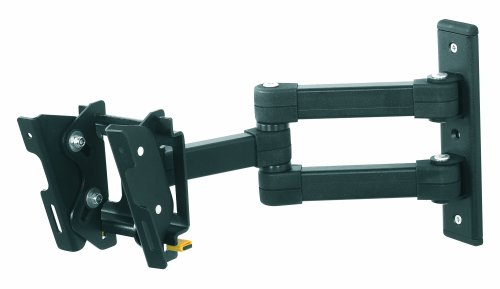 AVF EL104B-A Multi Position Dual Arm TV Mount for 12-Inch to 25-Inch TV or Monitor Chief Multiple Monitor