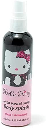 Hello Kitty Body Splash for Kids, Strawberry, 4.22 Ounce
