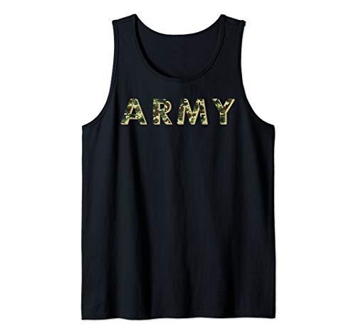 Army ACU OCP Military Digital Camo Workout Tank Top