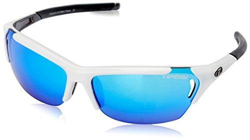 Tifosi Radius 1050105822 Dual Lens Sunglasses,White/Gunmetal