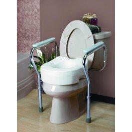 Adjustable Toilet Safety Frame-NA - Each 1