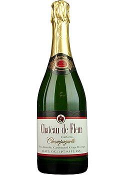 Chateau De Fleur Non-alcoholic Sparkling Wine Champagne
