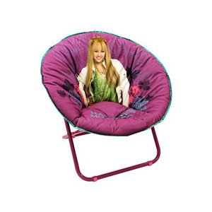 Hannah Montana Roll - Hannah Montana Rock N Roll Moon Chair Kids' Furniture