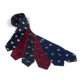 Pinscher Tie (Miniature Pinscher Silk Necktie)