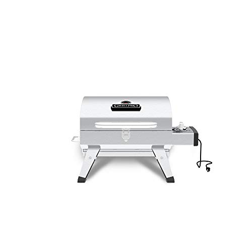 GrillPro Table Top Portable Electric Grill in Stainless Steel