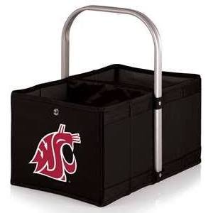 NCAA Washington State Cougars Urban Market Basket, Black