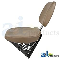 JOHN DEERE INSTRUCTIONAL SEAT BROWN AL173569, AL11