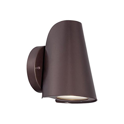 Acclaim 1405ABZ LED Wall Sconces Collection 1-Light Wall Mount Outdoor Light Fixture, Architectural Bronze by Acclaim