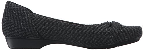 Synthetic Blanche Black Women's Flat West CLARKS wzqv60Y