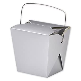 Take Out cubos papel colores – plata mate papel Take Out cajas grandes 4 – 1