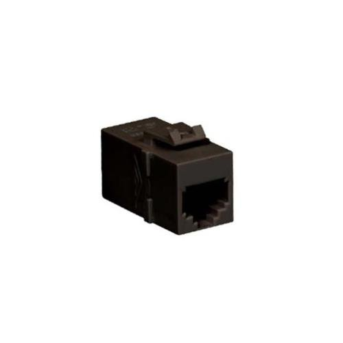 (ICC INT'L CONN & CABLE IC107C6RBK MODULE FEED THRU COUPLER 6P6C PIN TO PIN)
