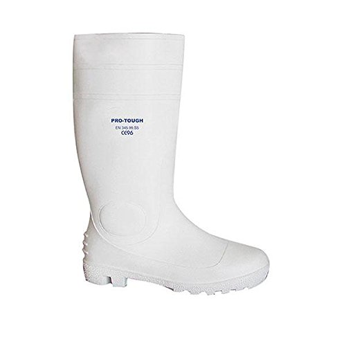 pro-tough pro-tough WHT – 5.0 weiß Sicherheit Gummistiefel