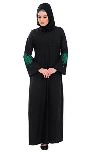 Gr East Damen Schwarz xxxxxl Kleid Durchgehend Essence Schwarz FwvIqawx7O