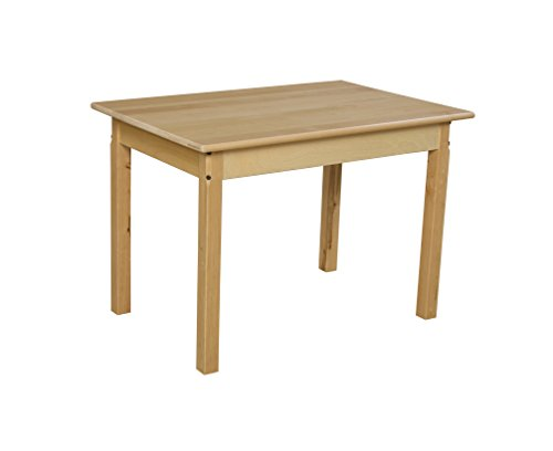Wood Designs WD82324 Child's Table, 24'' x 36'' Rectangle with 24'' Legs by Wood Designs