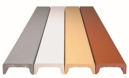 Coprimuro Coprimuretto Cover Colori Assortiti 120 Cm Grigio 32