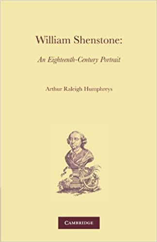 Top libros de descarga gratuitaWilliam Shenstone en español PDF RTF DJVU by A. R. Humphreys