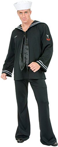 [South Seas Sailor Costume - X-Large - Chest Size 44] (South Sea Sailor Costume)