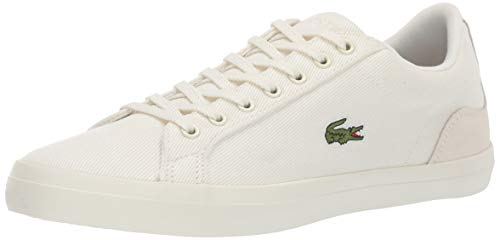 Lacoste Men's Lerond Sneaker off White, 10 Medium US