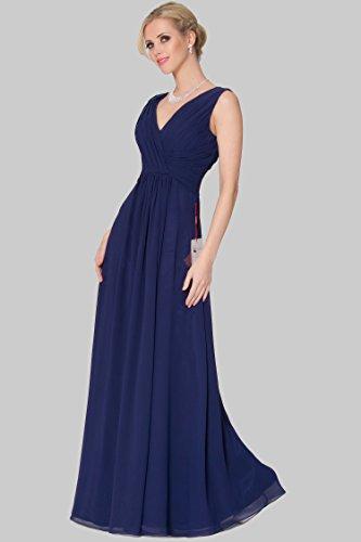 formal cinco 5 tipos EDJ1635 vestido SEXYHER de estilo de 46SC DarkBlue3 de damas 1639 honor de noche PdBw1qa