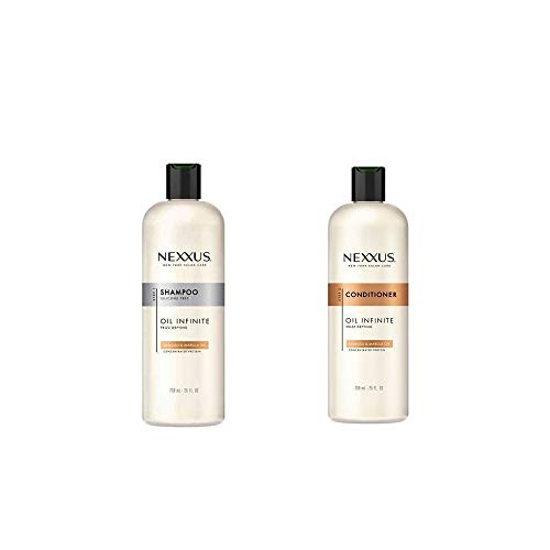 Nexxus Oil Infinite 25 OZ/739 mL Shampoo & Conditioner Set [Babassu Oil] (25 OZ/739 mL Shampoo & Conditioner Set)