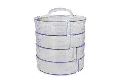 Pie Saver Carrier Set – Food Travel, Storage, Tray