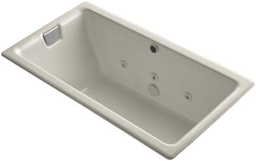Kohler K-856-HN-G9 Tea-For-Two 5.5Ft Whirlpool with Custom Pump Location, ()