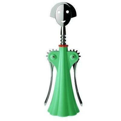 Alessi Anna G. Corkscrew Light Green by Alessandro Mendini