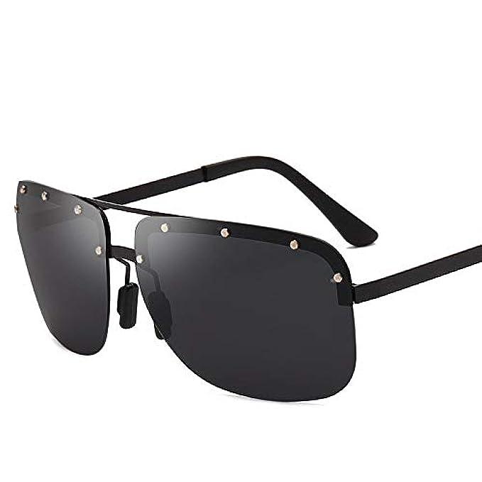 Polarizzati nbsp; Occhiali Uv400 Stile Da A Per Sole Nuovo Senza Specchio Anti-riflesso Montatura Yxcchzs Uomo nbsp; nbsp;nero