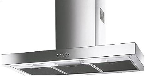 Smeg KAP900X - Campana (450 m³/h, Canalizado, 44 dB, De pared, Acero inoxidable, 2 bombilla(s)): Amazon.es: Hogar