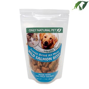 Only Natural Pet All Meat Bites Wild Salmon 5oz